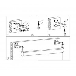 Liberty Screen Wall Mount Bracket