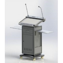 Digital Podium With All-In-1-PC (Touch Screen) HJ-17Q