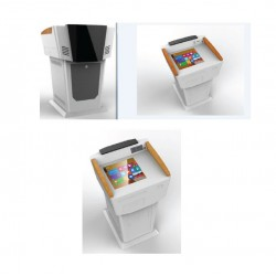 Digital Podium With All-In-1-PC (Touch Screen) HJ-KF08