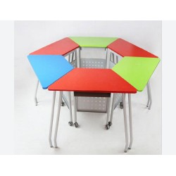 School Furniture Collaborative Pentacle Table (Without Folding) JC-TB05
