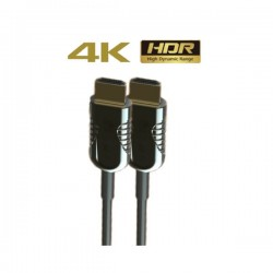 Liberty HDMI Optical Fiber Cable 10 Mtrs ( AOC 2.0, 4K )