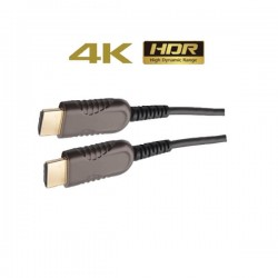 Liberty HDMI Optical Fiber Cable 25 mtrs ( AOC 2.0, 4K )