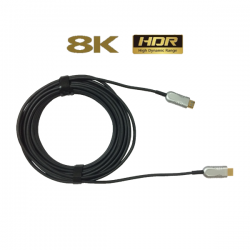 Liberty HDMI Optical Fiber Cable 10 Mtrs ( AOC 2.1, 8K )