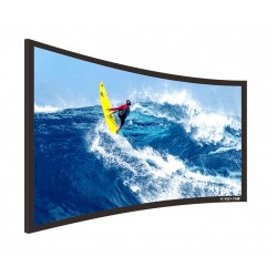 "Liberty Screen Pro 92"" (16:9) Curved Fixed Frame 4K MW 90MM"