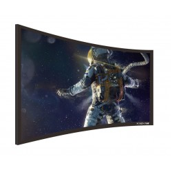 "Liberty Screen Pro 92"" (16:9) Curved Fixed Frame 8K 90MM"