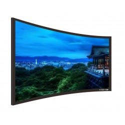 "Liberty Screen Pro 100"" (16:9) Curved Fixed Frame 8K 90MM"
