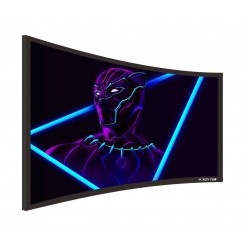"Liberty Screen Pro 106"" (16:9) Curved Fixed Frame 4K MW 90MM"