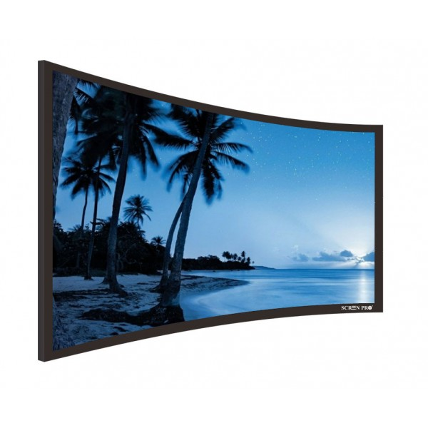 "Liberty Screen Pro 100"" (2.35:1) Curved Fixed Frame TM 90MM"