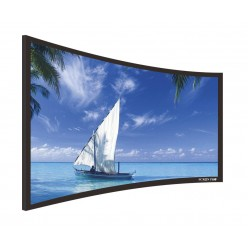 """Liberty Screen Pro 100"""" (2.35:1) Curved Fixed Frame Acoustic Woven 90MM"""