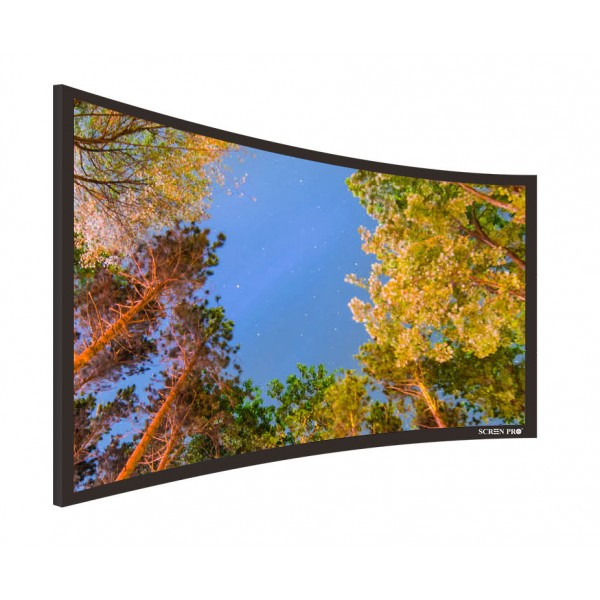 "Liberty Screen Pro 100"" (2.35:1) Curved Fixed Frame 8K 90MM"