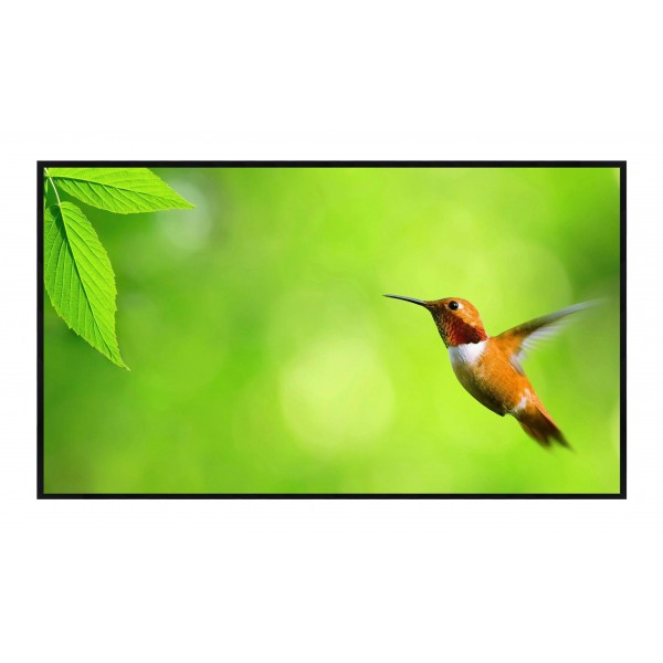 "Liberty Grandview 84"" (16:9) Edge Fixed Fixed Frame Screen with 7 mm Frame (WB7 PS series White)"