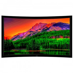 "Liberty Grandview 133"" (16:9) Prestige Curved Fixed Frame HD Matte White"