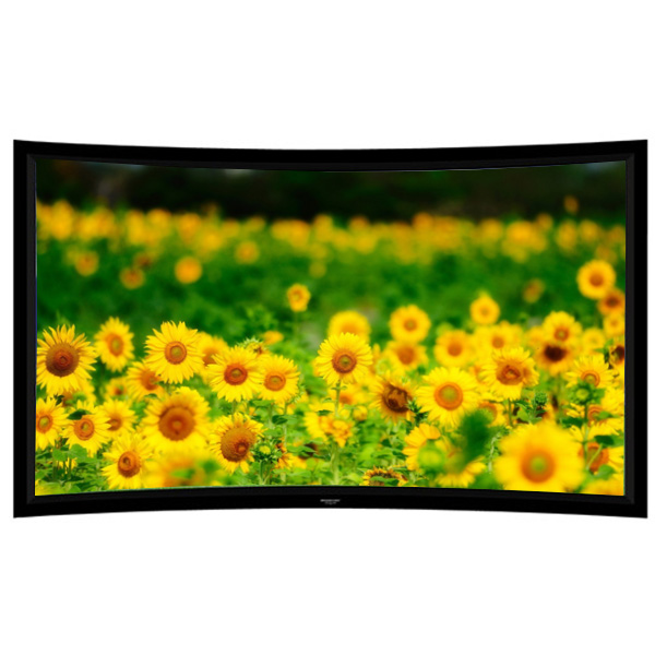 "Liberty Grandview 100"" (16:9) Prestige Curved Fixed Frame  HD Matte White"