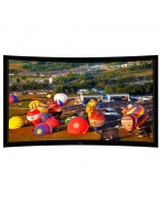 "Liberty Grandview 77"" (16:9) Prestige Curved Fixed Frame Screen With 8cm Frame And HD Matte White"