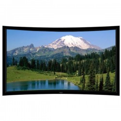 "Liberty Grandview 120"" (16:9) Prestige Curved Fixed Frame Acoustic Weaved"