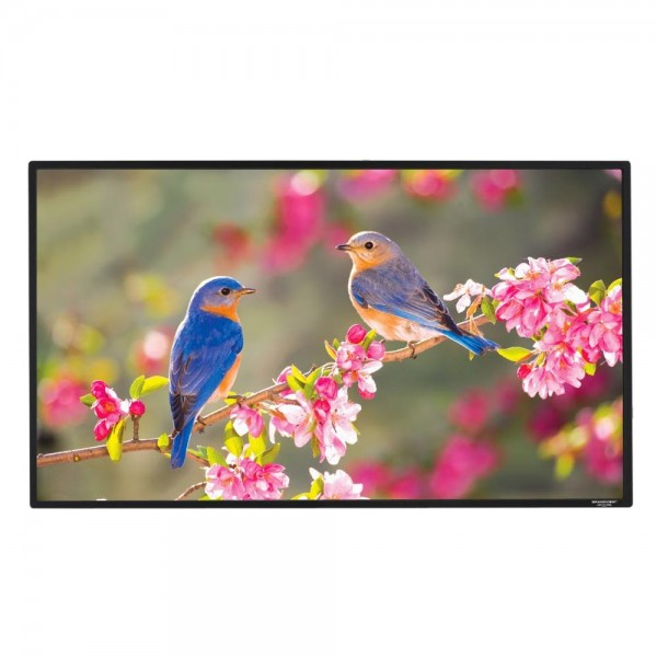 "Liberty Grandview 100""(16:9) Edge Fixed Frame Screen With 2.9 Cms Frame With Matt White"