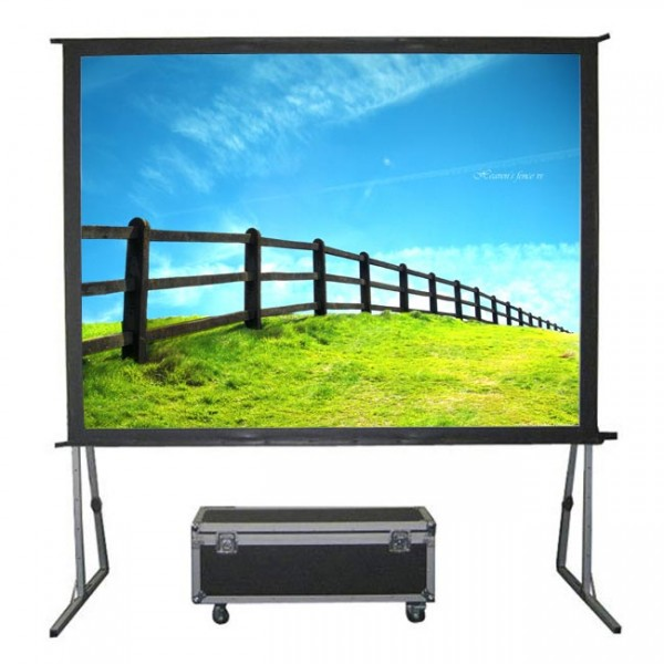 "Liberty Grandview (5'X7') 100"" (4:3) Fast Fold Screen with Matt White"
