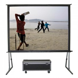 "Liberty Grandview 113"" (16:10) Fast Fold Screen with Matt White"
