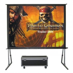 "Liberty Grandview (6'X8')120"" (4:3) Fast Fold Screen with Matt White"