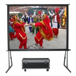 "Liberty Grandview 87"" (2.35:1) Fast Fold Screen with Matt White"