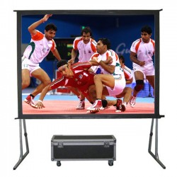 "Liberty Grandview 104"" (2.35:1) Fast Fold Screen with Matt White"