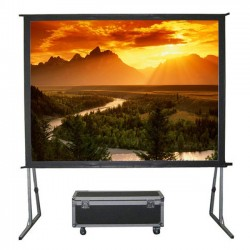 "Liberty Grandview 130"" (2.35:1) Fast Fold Screen with Matt White"
