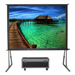 "Liberty Grandview (8'X10')150"" (4:3) Fast Fold Screen with Matt White"