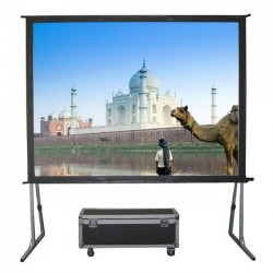 "Liberty Grandview (4.5'x8')110"" (16:9) Fast Fold Screen with Matt White"