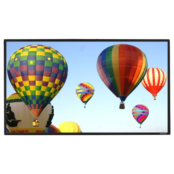 "Liberty Grandview 100"" (16:9) Prestige Fixed Frame Screen with 8cm Frame and Acoustic Weaved"