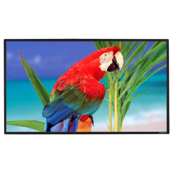 "Liberty Grandview Prestige Fixed Frame Screen with 8cms 100"" 16:9 WB7 HD Matte White"