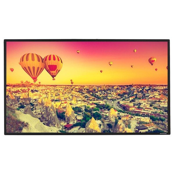 "Liberty Grandview Ultimate Fixed Frame Screen 165""16:9 HD Matte White"