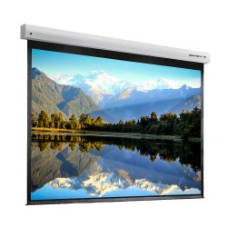 "Liberty Grandview 100"" (16:9) Cyber Series IP Multi Control Screen With Fiber Glass"