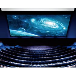 """Liberty Grandview Large Stage Motorized Screen with Wood Casing LS-M450 450"""""""
