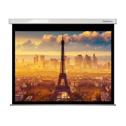"Liberty Grandview 250"" (16:9) Large Stage Fantasy A  with Matte White (WM9) Fabric-Screen"