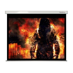 "Liberty Grandview 300"" (16:9) Large Stage Fantasy A  with  Matte White (WM9) Fabric-Screen"