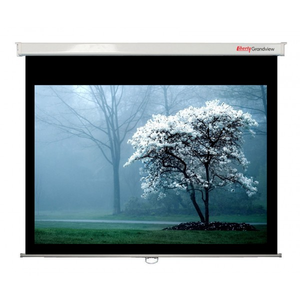 "Liberty Grandview 84"" (4:3) CNV Series Manual Screen"
