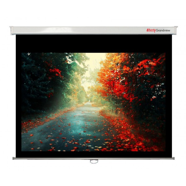 "Liberty Grandview 100"" (4:3) CNV Series Manual Screen"