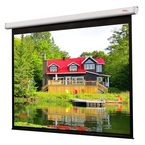 "Liberty Grandview Synchro Motor 100"" (16:9) CNV Motorized Screen"