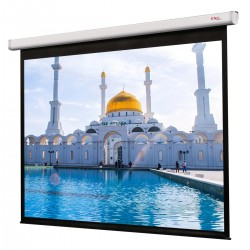 "Liberty Grandview Tubular Motor 137"" (16:10) CNV Motorized Screens"