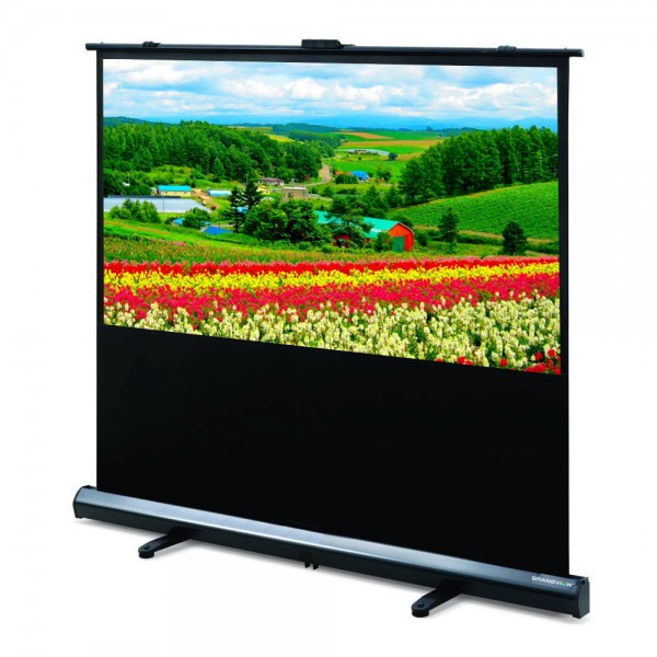"Liberty Grandview (5'x7')100"" (4:3) Portable Motorized Floor Up Screen With Matt White"