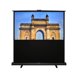 "Liberty Grandview 70""(4:3) Portable X/Y Floor Up Screen With Matt White"
