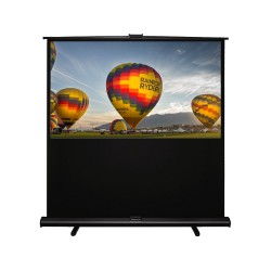 "Liberty Grandview 80""(4:3) Portable X/Y Floor Up Screen With Matt White"
