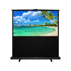 "Liberty Grandview 70""(16:9) Portable X/Y Floor Up Screen With Matt White"
