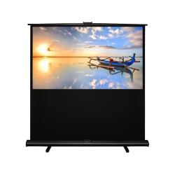 "Liberty Grandview 80""(16:9) Portable X/Y Floor Up Screen With Matt White"