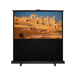 "Liberty Grandview (4'x7')92""(16:9) Portable X/Y Floor Up Screen With Matt White"