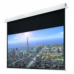 "Liberty Grandview 84"" (4:3) Hidetech Series Recessed Ceiling Motorized Screen with Trap Bar"