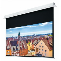 "Liberty Grandview 120"" (4:3) Hidetech Series Recessed Ceiling Motorized Screen without Trap Bar"