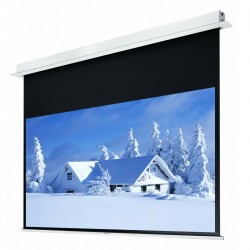 "Liberty Grandview 92"" (16:9) Hidetech Series Recessed Ceiling Motorized Screen without Trap Bar"