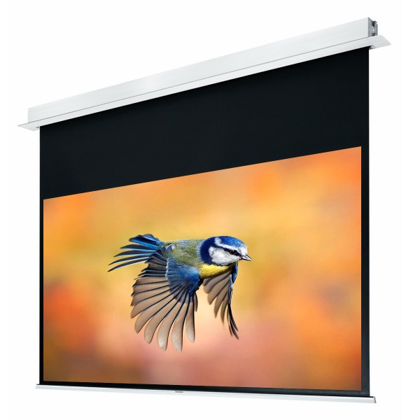"Liberty Grandview 100"" (16:9) Hidetech Series Recessed Ceiling Motorized Screen without Trap Bar"