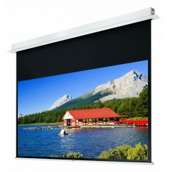 """Liberty Grandview 94"""" (16:10) Hidetech Series Recessed Ceiling Motorized Screen with Trap Bar"""
